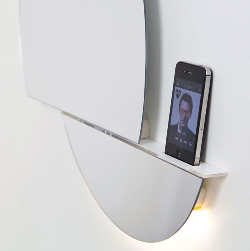 Open Mirror by Digital Habit(s) in technology main home furnishings  Category