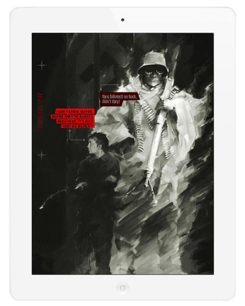 <em>Das Geheimnis</em>: A Graphic Novel by Paul Tysall in technology sponsor main art  Category
