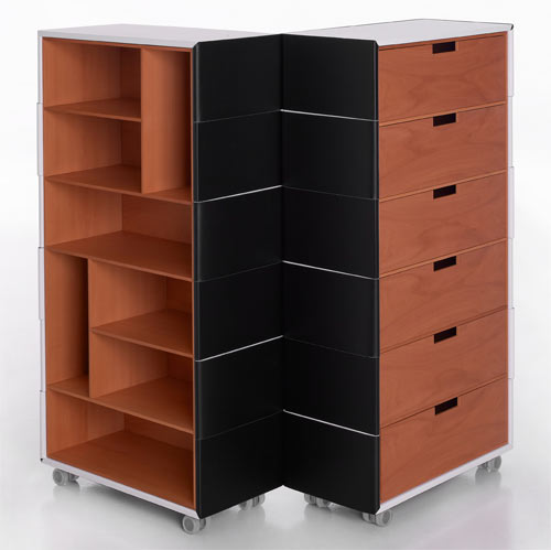 Chameleon Cupboard by Front for Porro in main home furnishings  Category