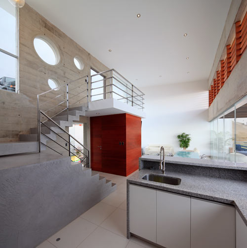 Beach House E 3 by Vértice Arquitectos in main architecture  Category