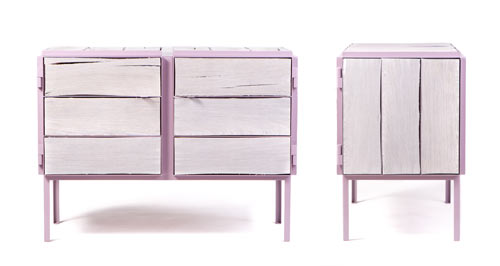 NewspaperWood Framed Cabinet by Breg Hanssen in main home furnishings  Category