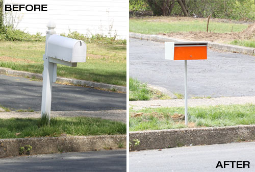 before-after-modern-mailbox