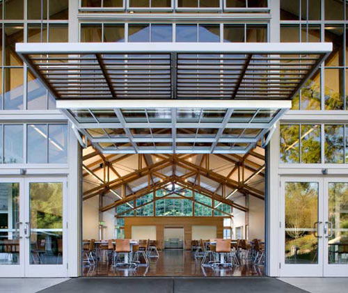 Branson School Student Commons by Turnbull Griffin Haesloop Architects in main architecture  Category