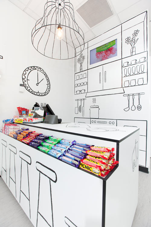 The Candy Room by Red Design Group in interior design  Category