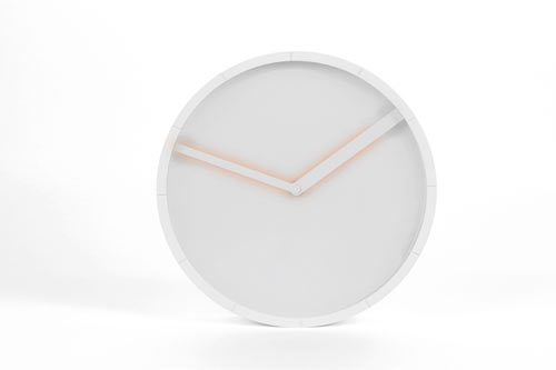 Glow Clock by Hallgeir Homstvedt for Lexon