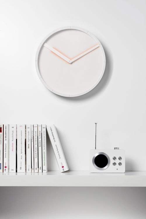 Glow Clock by Hallgeir Homstvedt for Lexon in technology home furnishings  Category