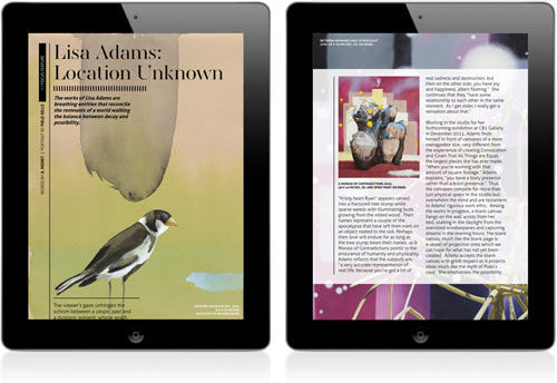 Introducing Installation Magazine, The First All Digital Contemporary Art Mag in technology sponsor main art  Category