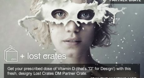 Design Milk + Lost Crates