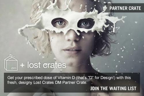 Design Milk + Lost Crates