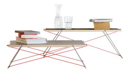 Paul & Paula Side Tables by Matthias Ferwagner