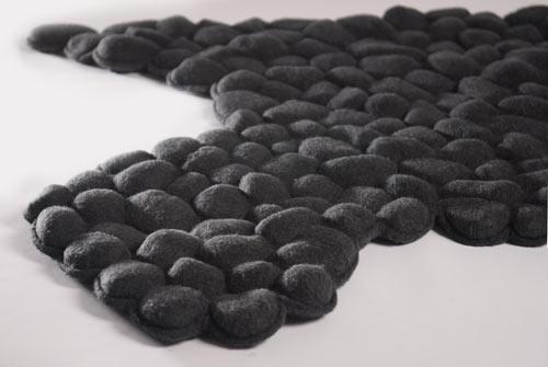 Pebbles Carpet by Neora Zigler