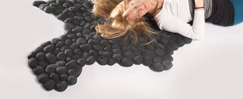 Pebbles Carpet by Neora Zigler in home furnishings  Category