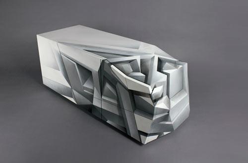 Perceptor Cabinet by Tieme Rietveld and Codex Inferno