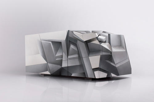 Perceptor Cabinet by Tieme Rietveld and Codex Inferno in main home furnishings art  Category