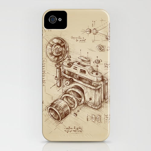 Fresh From The Dairy: Vintage Cameras in technology style fashion art  Category