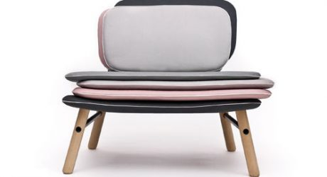 Stack Easy Chair by Skrivo Design