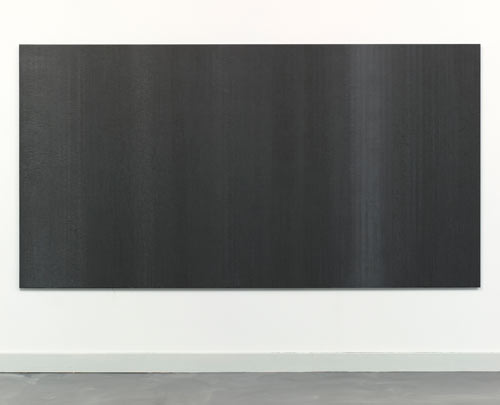 Beck,Kate-3-EssentialStructure_PouredOilGraphiteonAluminum_48x89inches_2011