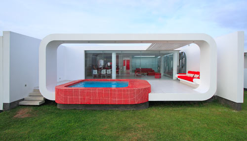 House in Palabritas Beach by Metropolis in main architecture  Category