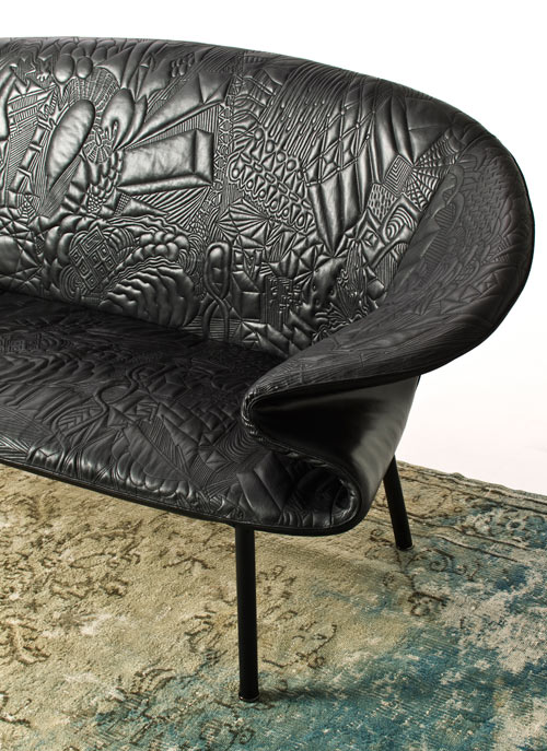 Doodle Sofa by Front for Moroso in main home furnishings art  Category