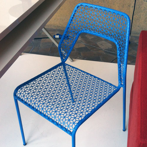 Hot Mesh Chair Blu Dot