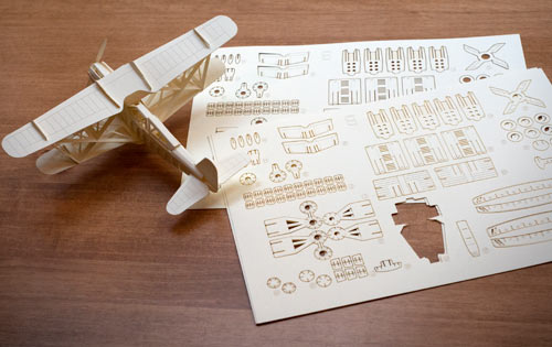 Papero   A Paper Craft Toy in style fashion main art  Category