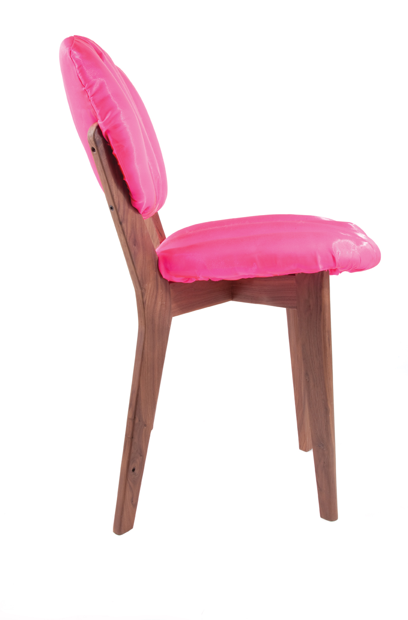 Puffy Dining Chair by Jessica Carnevale in Milan