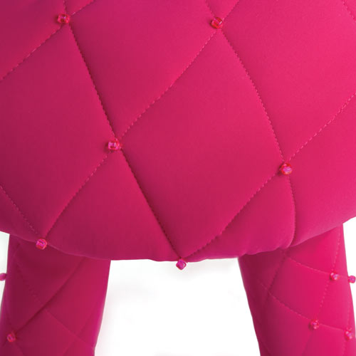 Puffy Scubastool by Jessica Carnevale in Milan