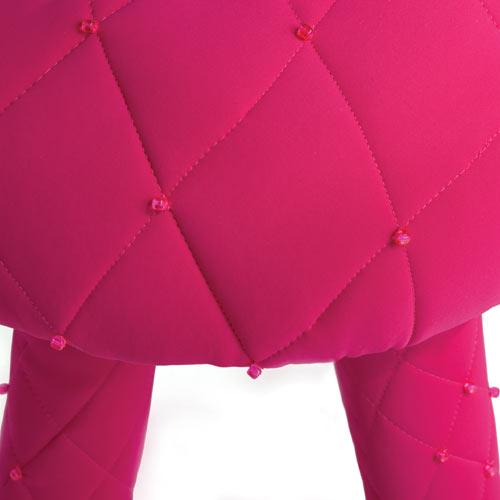 Puffy Scubastool by Jessica Carnevale in Milan