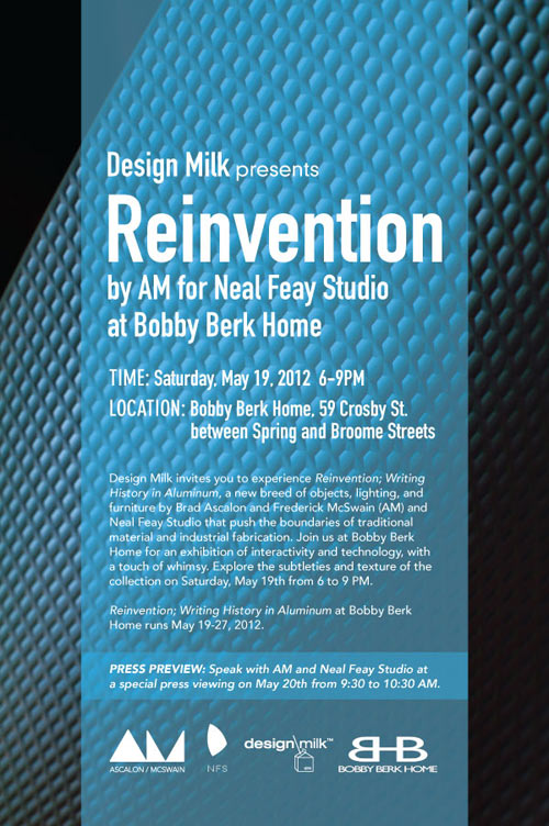 You Are Cordially Invited: Design Milk Presents… Reinvention