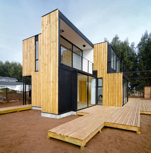 Wall Structural Insulated Panels : Sip panel house by alejandro soffia gabriel rudolphy