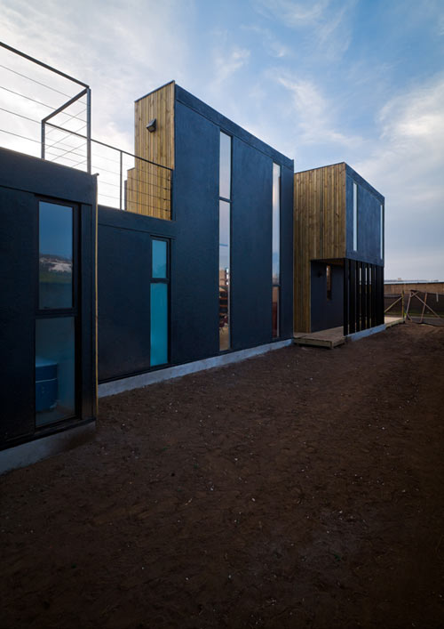 Sip panel house by alejandro soffia gabriel rudolphy for Sip homes
