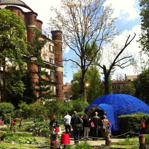 The Secret Garden at Milan Design Week