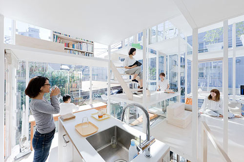 House NA by Sou Fujimoto Architects in main architecture  Category