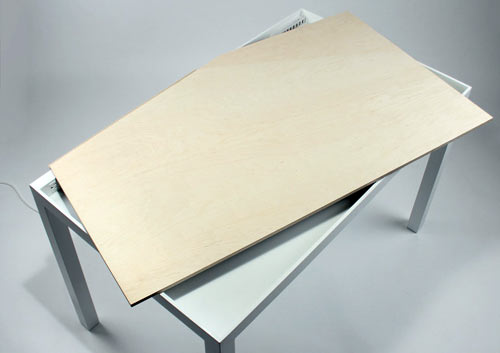 Tambour Table by Michael Bambino in home furnishings  Category