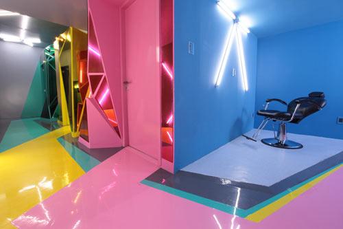 Wax Revolution Polanco by ROW Studio in main interior design architecture  Category