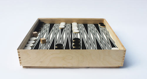 Backgammon and Checkers by Fredericks & Mae in style fashion main home furnishings art  Category