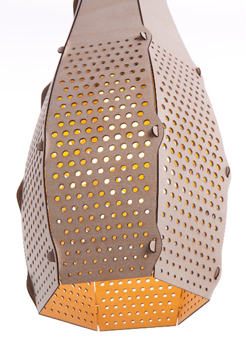 Bud Lampshade by Desinature in main home furnishings  Category
