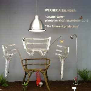 Werner Aisslinger's Chair Farm at Milan Design Week