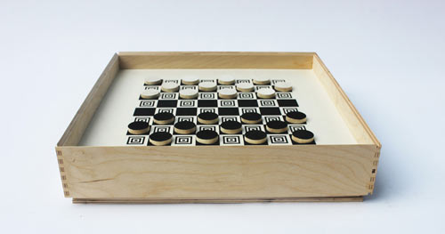 Backgammon and Checkers by Frederick & Mae