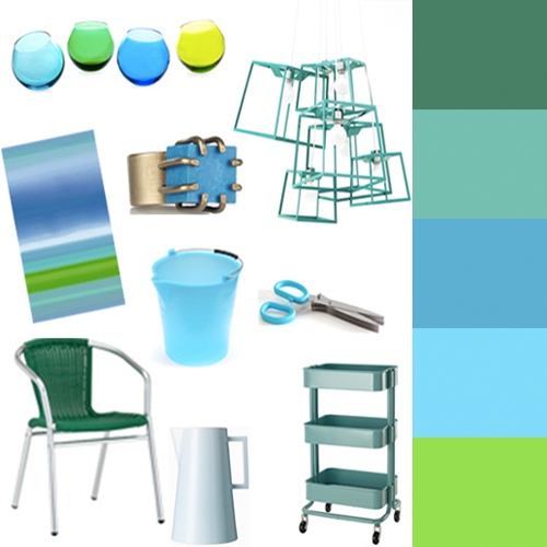 Ocean-Hued Home Decor