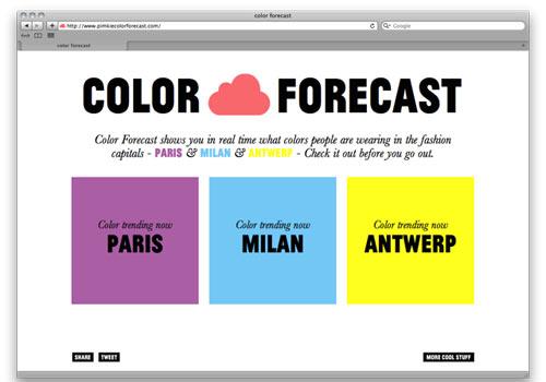 Pimkie Color Forecast