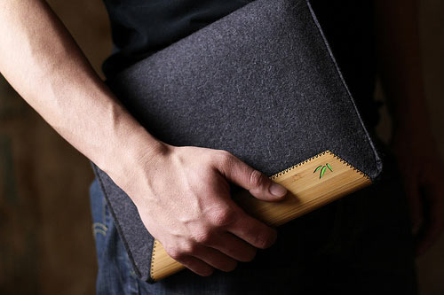Wool Felt iPad Sleeve from Grove in technology style fashion  Category