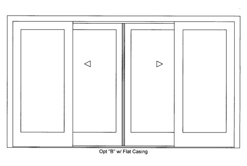 The house milk kitchen project sliding doors video part 1 for Sliding glass doors drawing