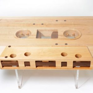 Mixtape Table by Jeff Skierka