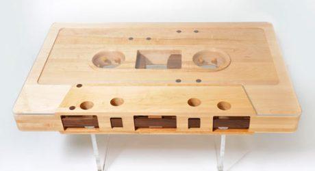 Mixtape Table by Jeff Skierka