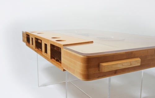 Mixtape Table by Jeff Skierka in technology main home furnishings  Category