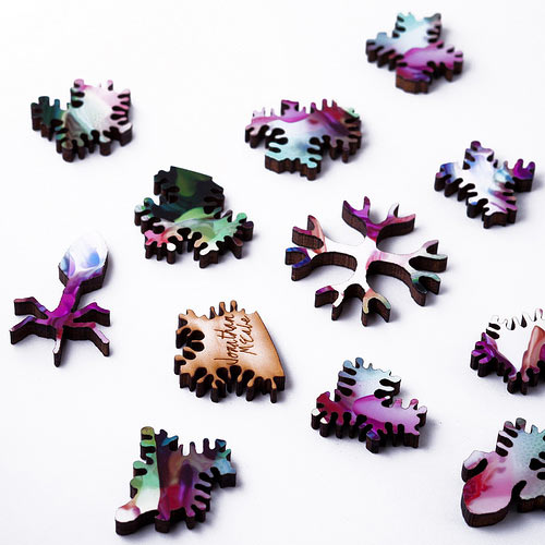 Generative Jigsaw Puzzles by Nervous System in style fashion art  Category