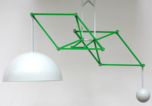 Peaucellier Lamp by Roland Beaven in main home furnishings  Category