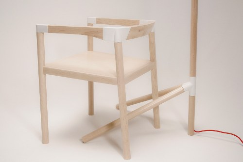 Peg Lamp and Chair by Tomas Rojcik in main home furnishings  Category