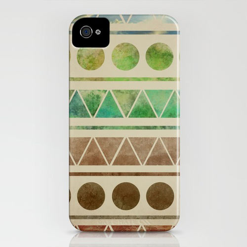 Fresh From The Dairy: Triangle iPhone Cases in technology style fashion main art  Category